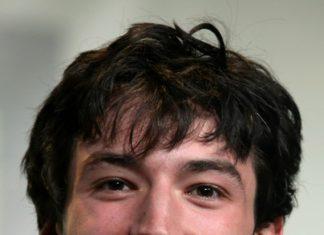 Ezra Miller smiling